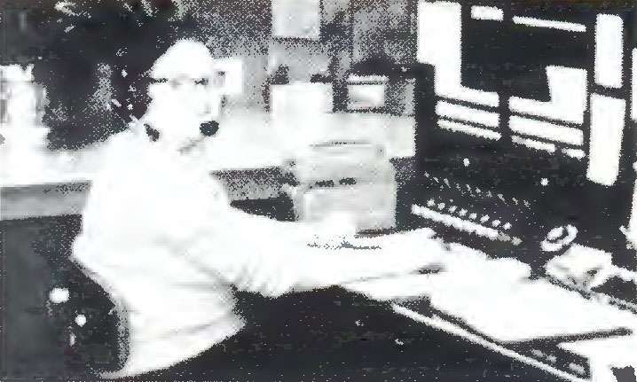 1968 - Relay's first switchboard and operator